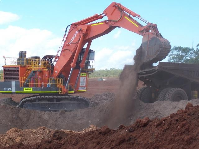 SMS Rental places an order for a brand new Hitachi EX2600-6 Excavator