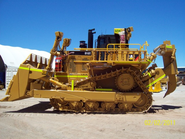 NEW Cat D10T Dozer delivered to Christmas Creek Mine for NRW Civil & Mining