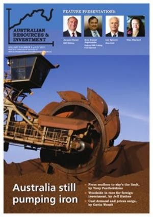 SMS Rental features in the July '11 Edition of the Australian Resources & Investment magazine